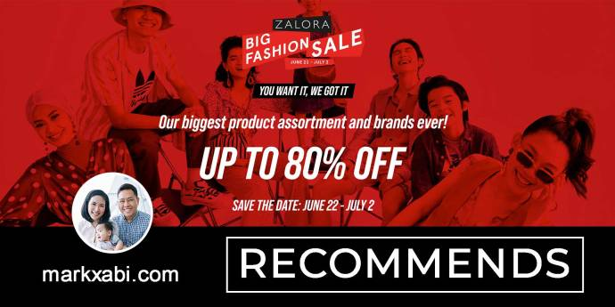 zalora big fashion sale 2020