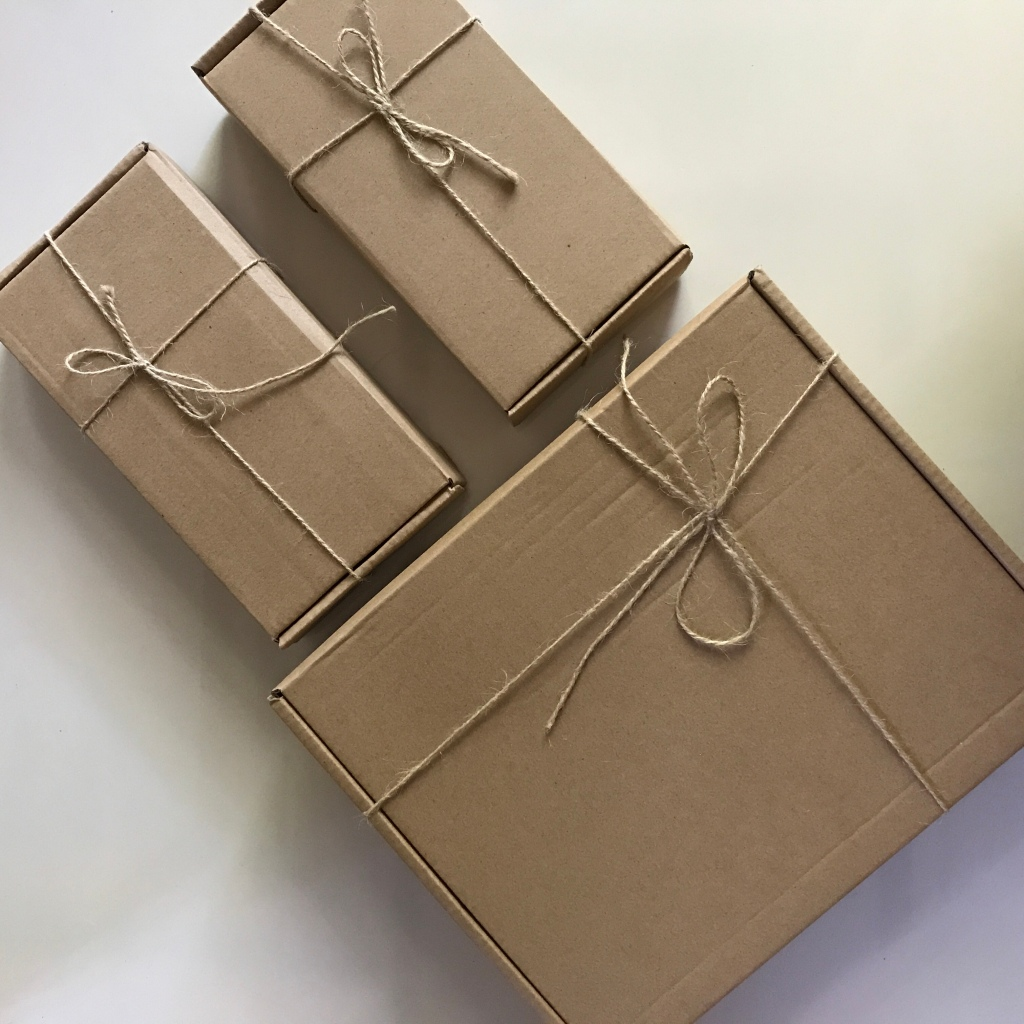 Brown paper packages tied up with strings, these are a few of my favorite things