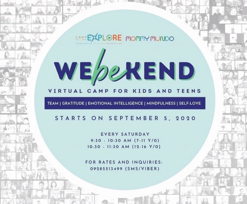 Camp Explore WeBeKend poster