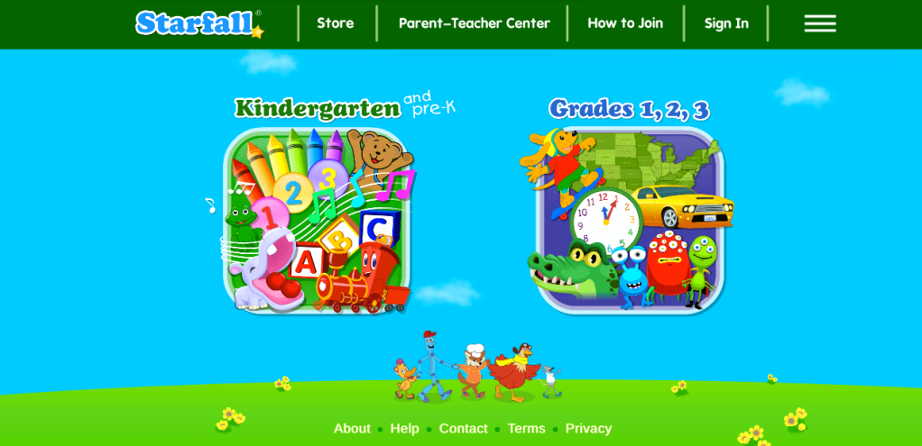 Screenshot starfall