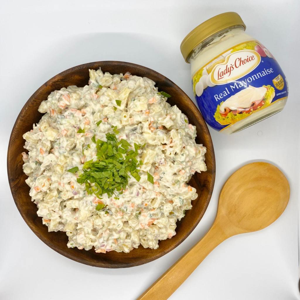 Lady's choice mayonnaise chicken macaroni salad