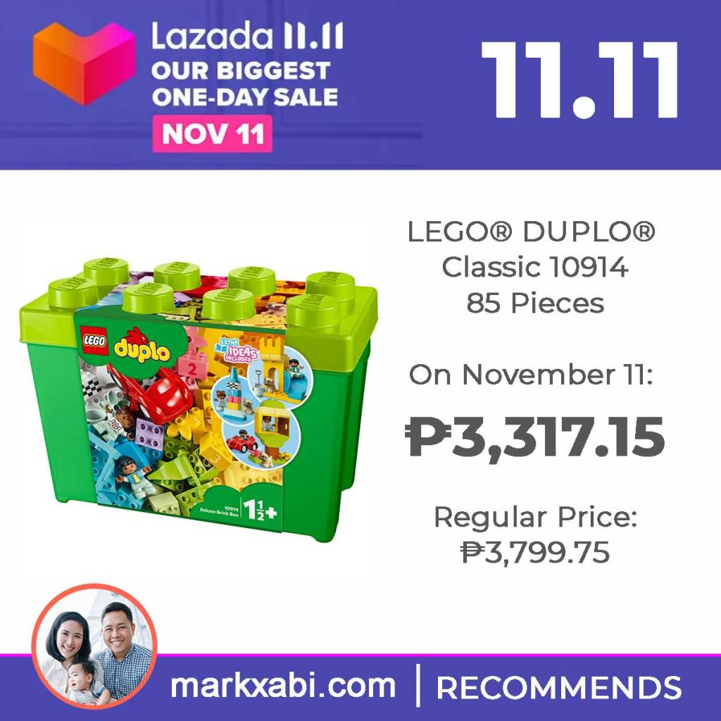 Lego Duplo Classic 10914 on sale at Lazada's 11.11 Sale