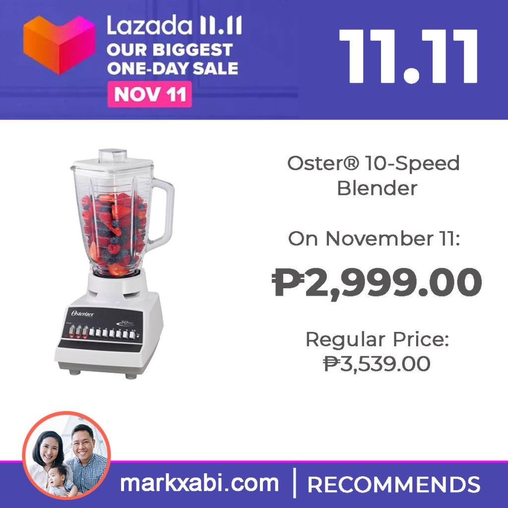 Oster 10-Speed Blender on sale at Lazada's 11.11 Sale