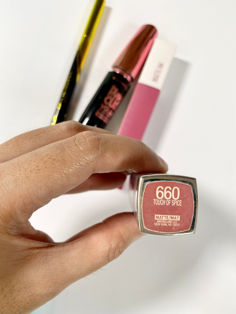 Maybelline Matte Lipstick in Touch of Spice