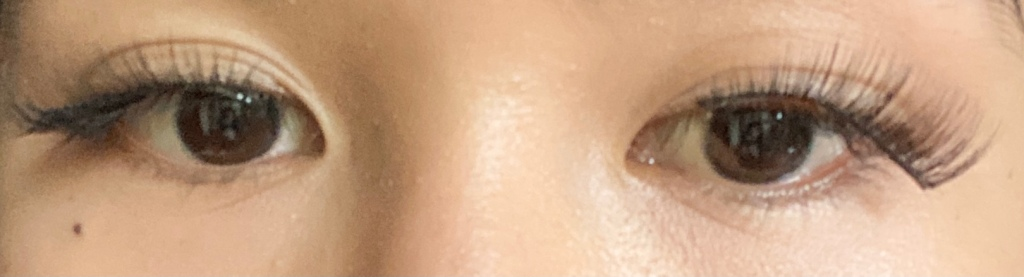 Falsies removed