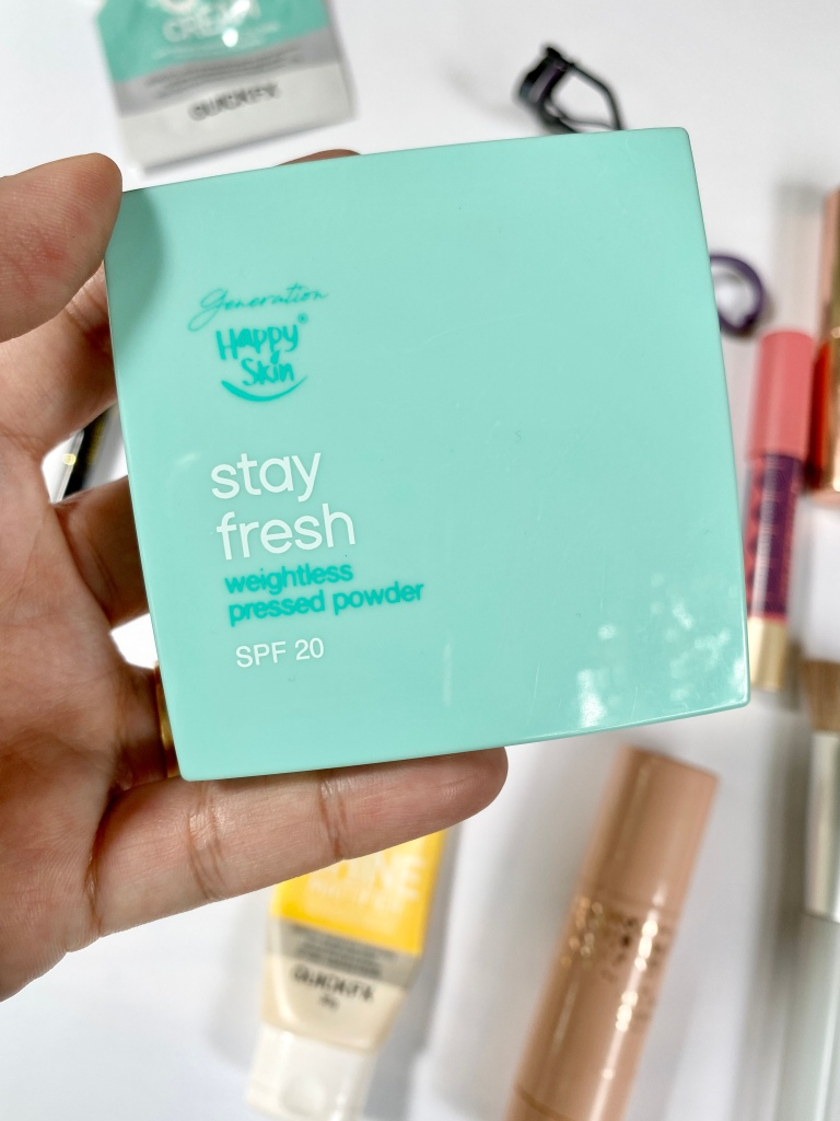 Happy Skin Stay Fresh Pressed Powder