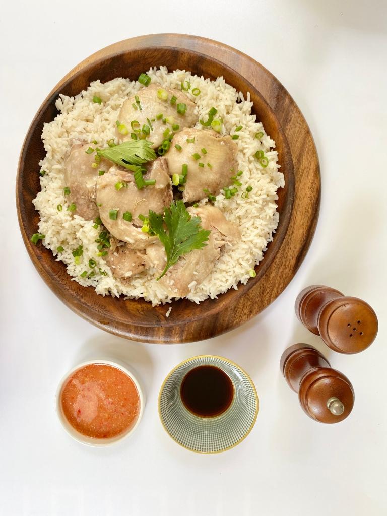 Hainanese Chicken Rice recipe