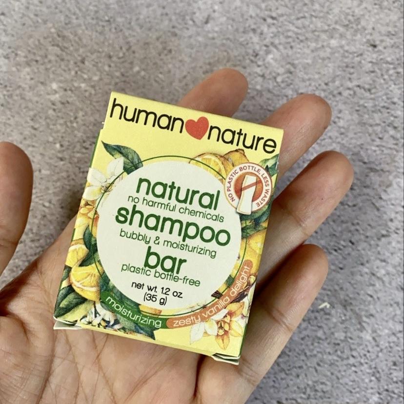 Human Heart Nature Natural Shampoo Bar