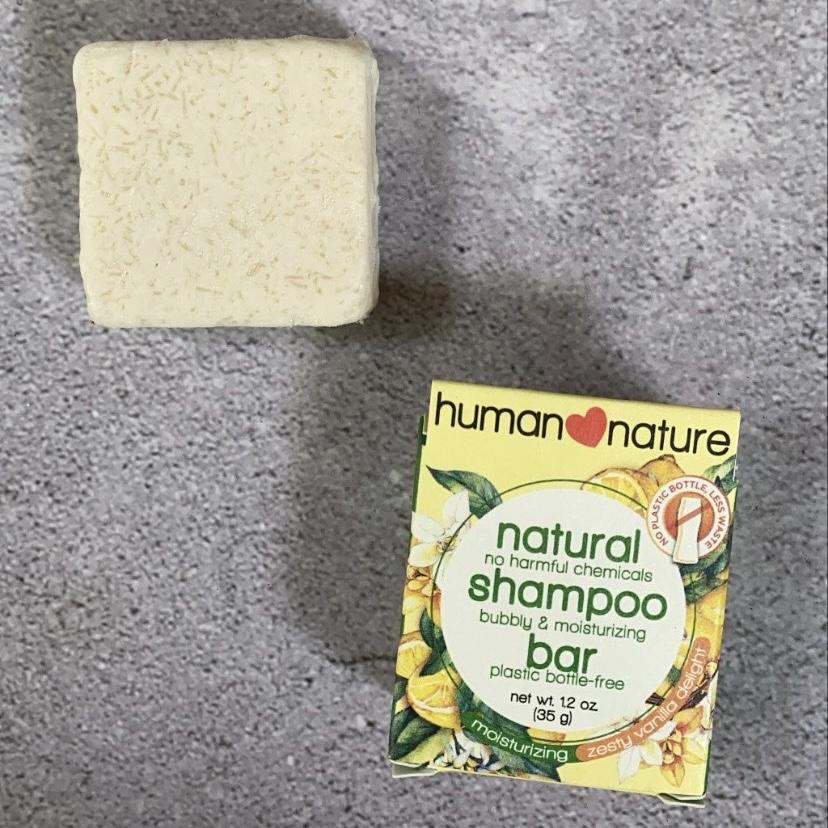 Actual photo of Human Heart Nature Natural Shampoo Bar