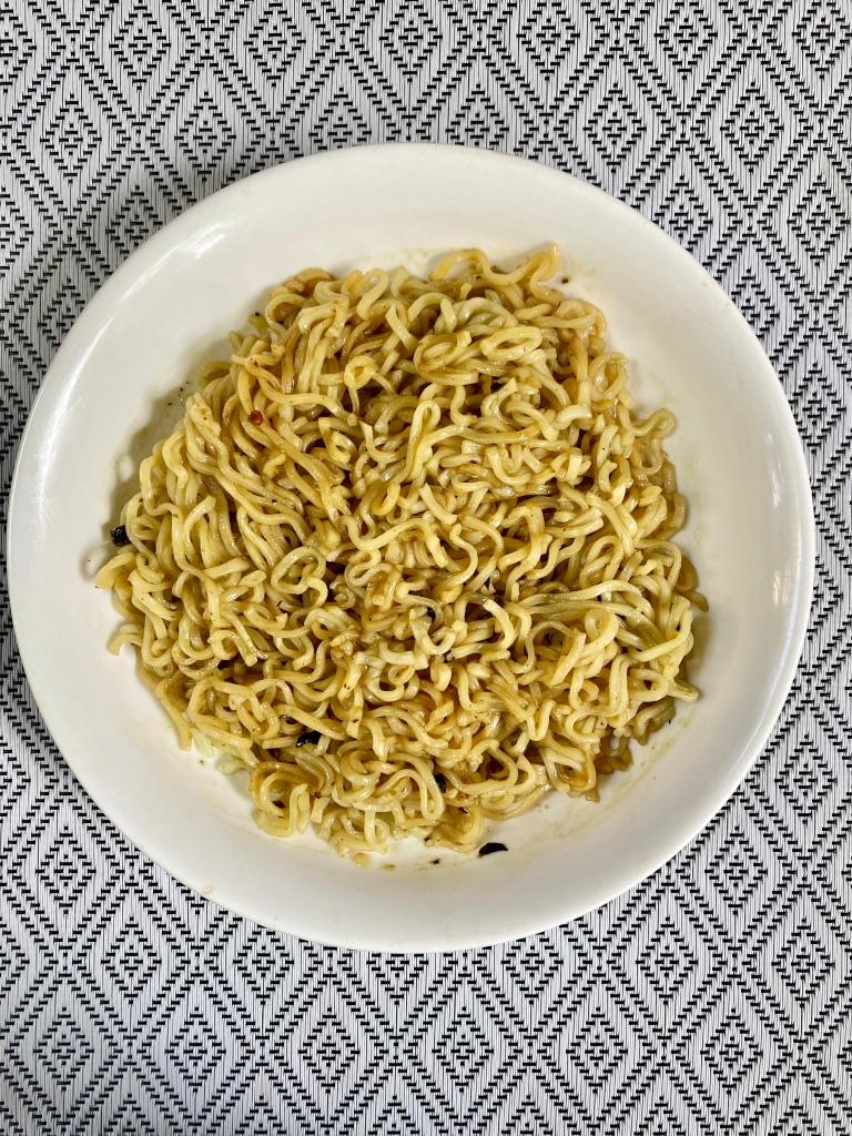 Cooked IndoMie Cili Hijau flavor