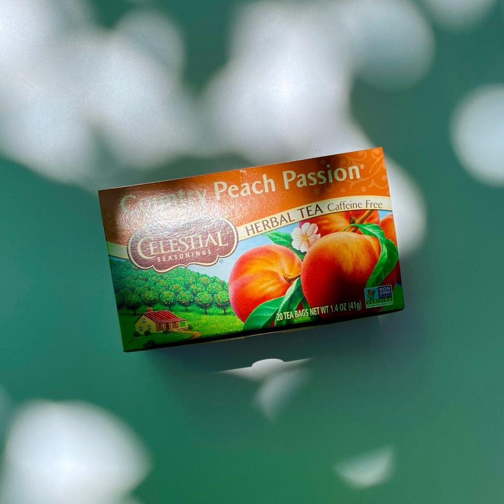 Celestial Seasonings Herbal Peach Tea