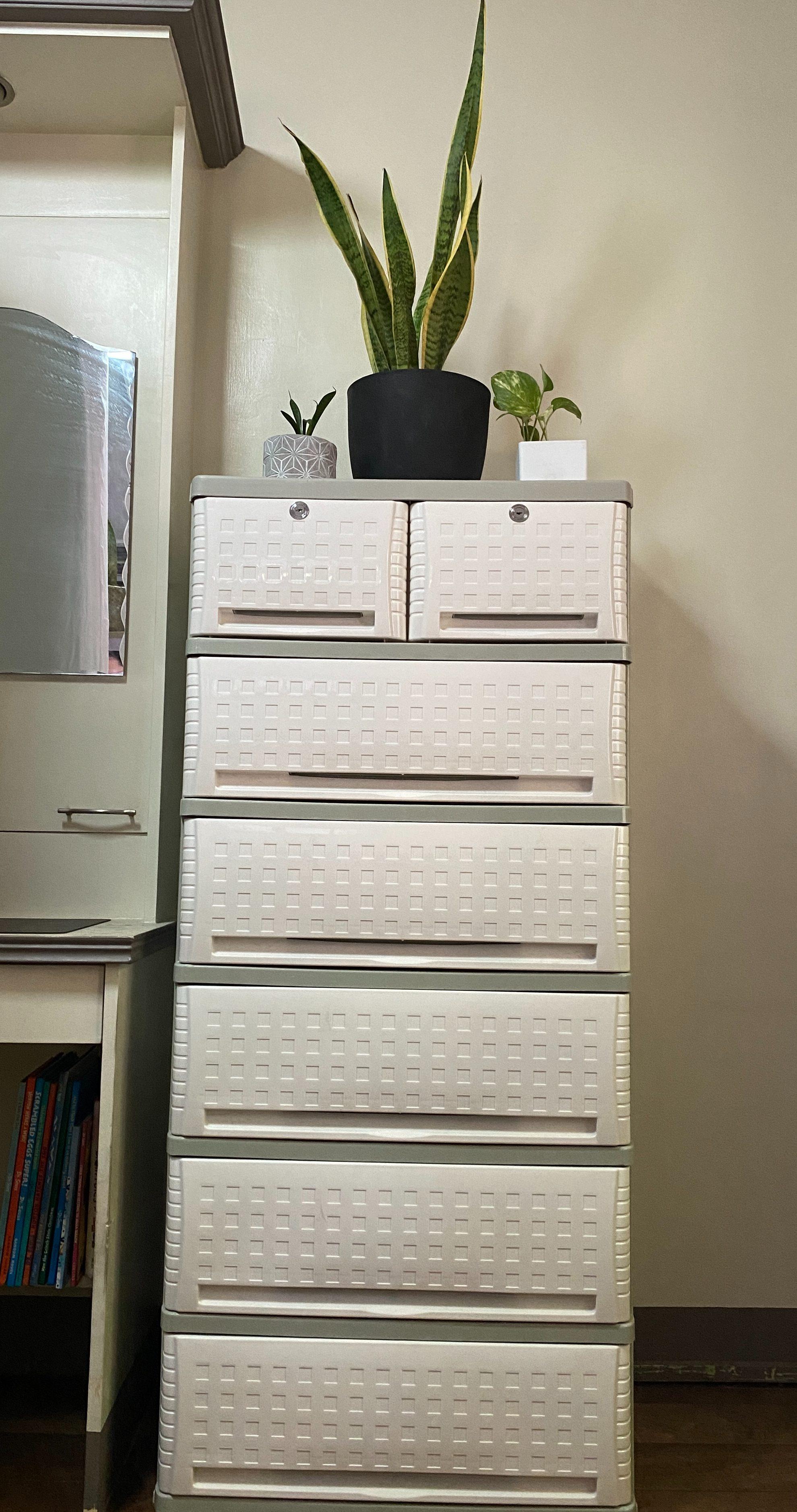 White Orocan Cubico Drawer