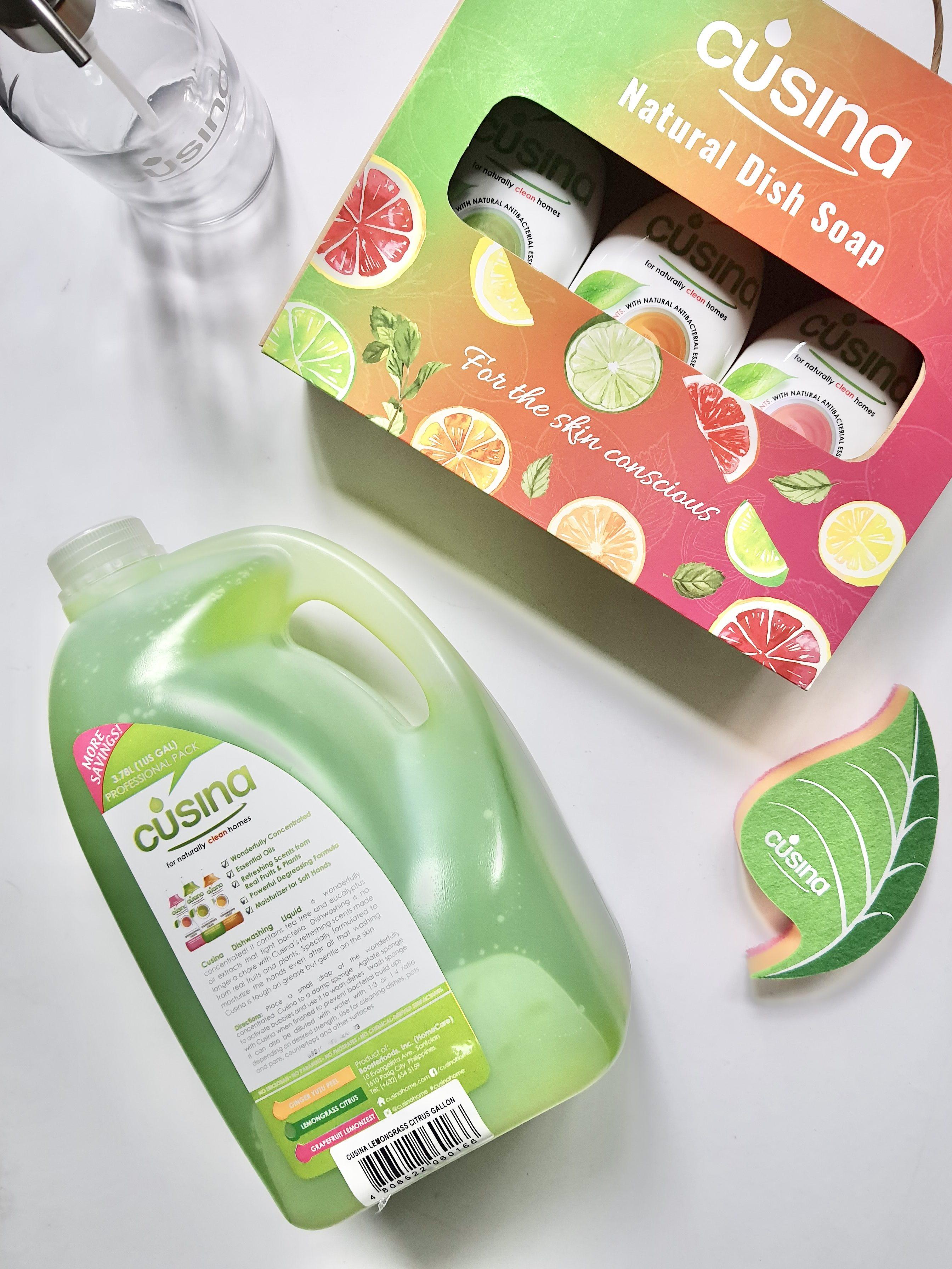 Cusina Natural Dish Soap: For the skin conscious