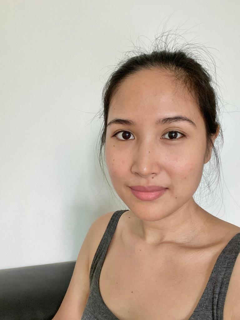 No make up photo